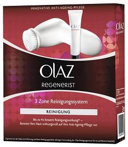 Olaz Regenerist 3 Zone Gesichtsreinigungsbürste mit 2 Rotationsstufen